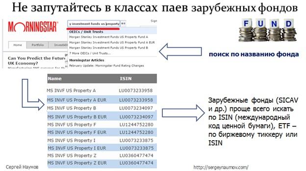 Подводные камни - зарубежные фонды 2.5